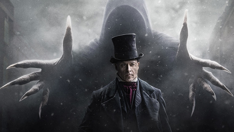 Guy Pearce as Scrooge in A Christmas Carol; BBC/FX