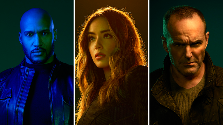 Mack, Daisy, and Sarge in Agents of SHIELD