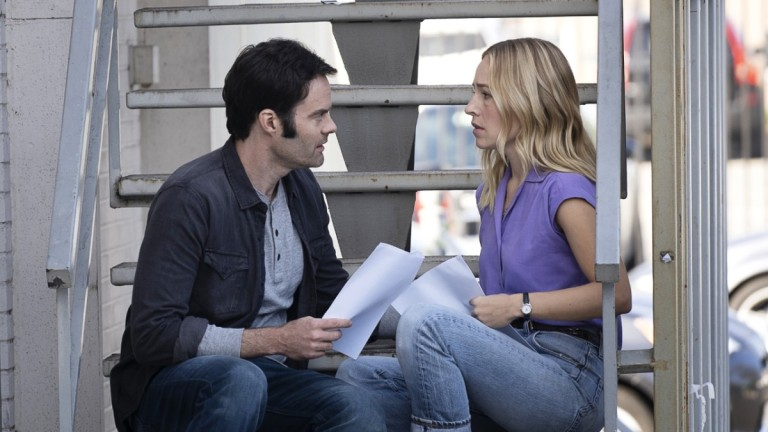 Barry and Sally discuss Sally's scene in the latest episode of Barry