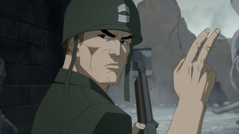 Sgt. Rock from DC Showcase Animated Short