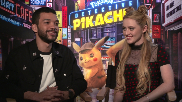 Detective Pikachu Justice Smith Kathryn Newton