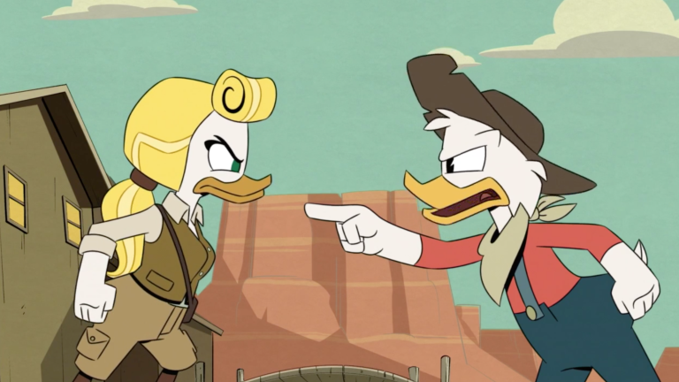 DuckTales Season 2 Episode 8 The Outlaw Scrooge McDuck