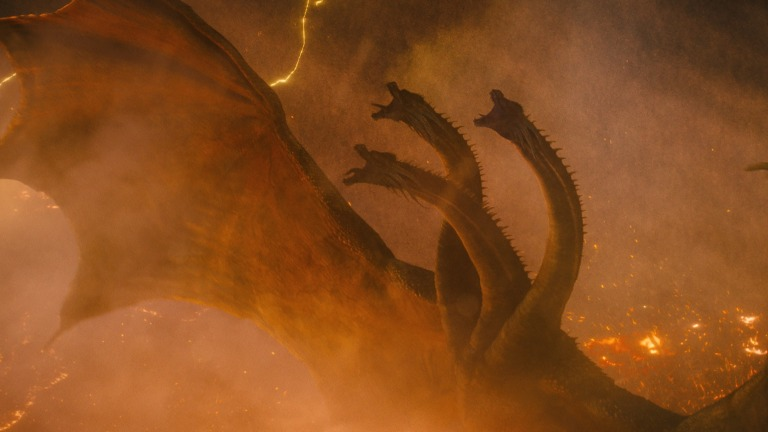 King Ghidorah in Godzilla: King of the Monsters