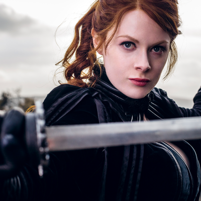 Into the Badlands The Widow Emily Beecham AMC