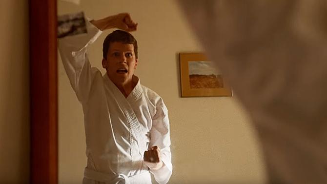 Jesse Eisenberg in The Art of Self Defense; Bleecker Street Media
