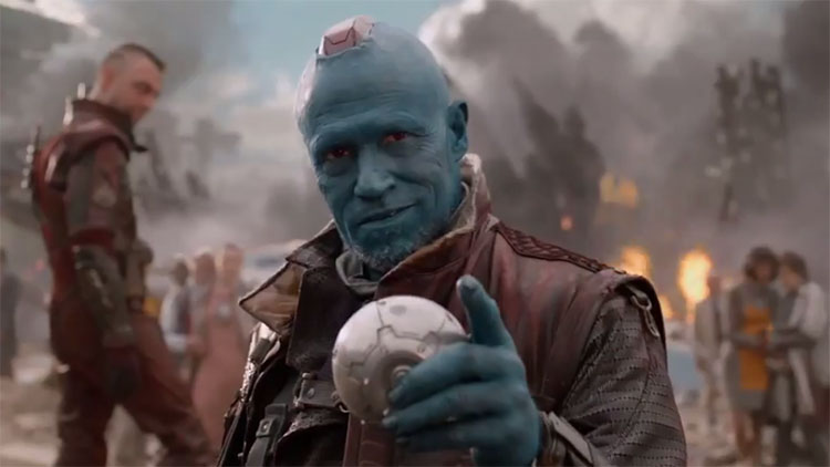 Michael Rooker as Yondu in Marvel's Guardians of the Galaxy