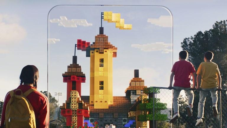 Minecraft Earth Release Date Trailer