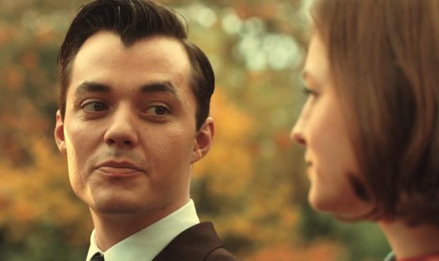 Pennyworth: Jack Bannon and Emma Corrin; Epix
