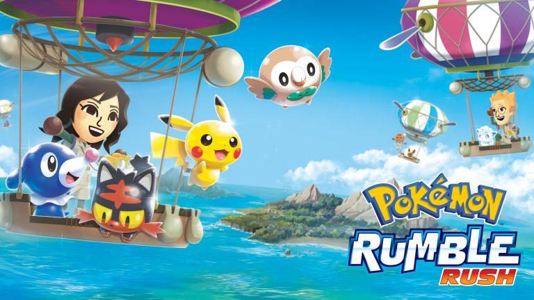 Pokemon Rumble Rush News