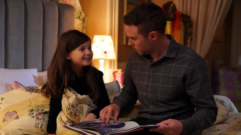 Fitz reads to young Simmons in Agents of SHIELD