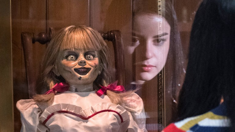 Katie Sarife in Annabelle Comes Home Ending Explained