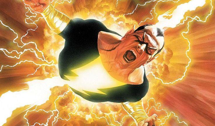 Black Adam in DC Shazam Comics