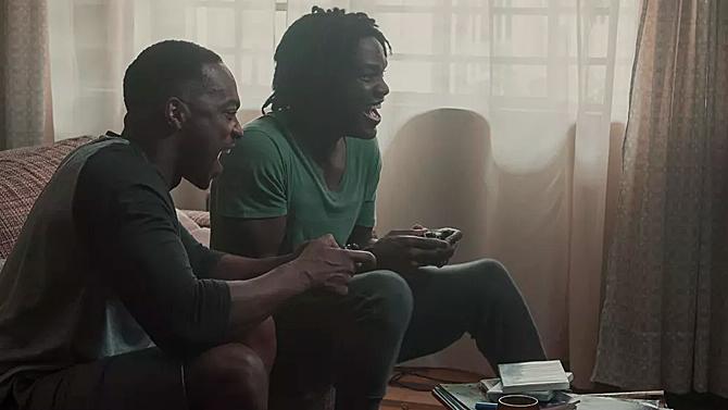 Black Mirror, Anthony Mackie and Yayha Abdul-Mateen II; Netflix