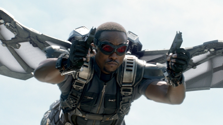 Anthony Mackie as Marvel's The Falcon