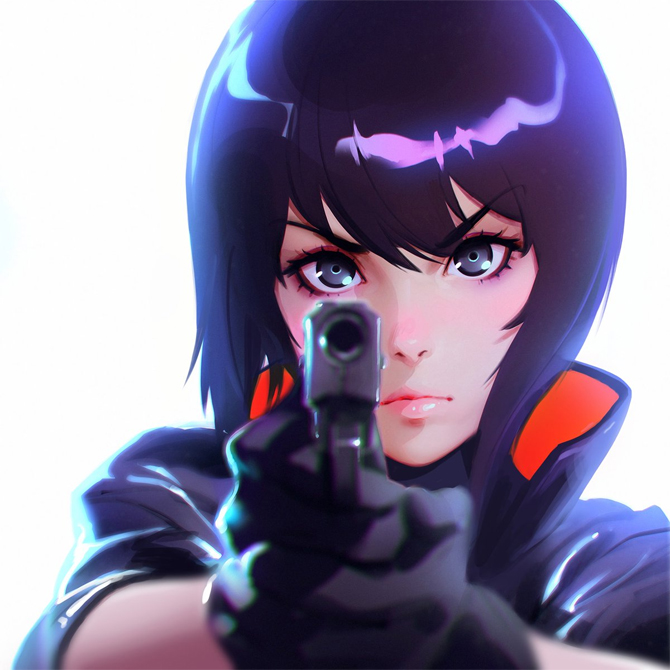 Ghost In The Shell Netflix Anime Series Details Den Of Geek