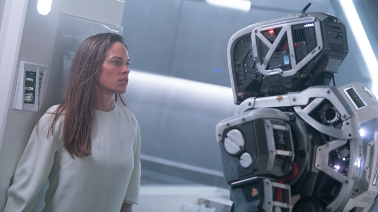 Hilary Swank and Mother in I Am Mother