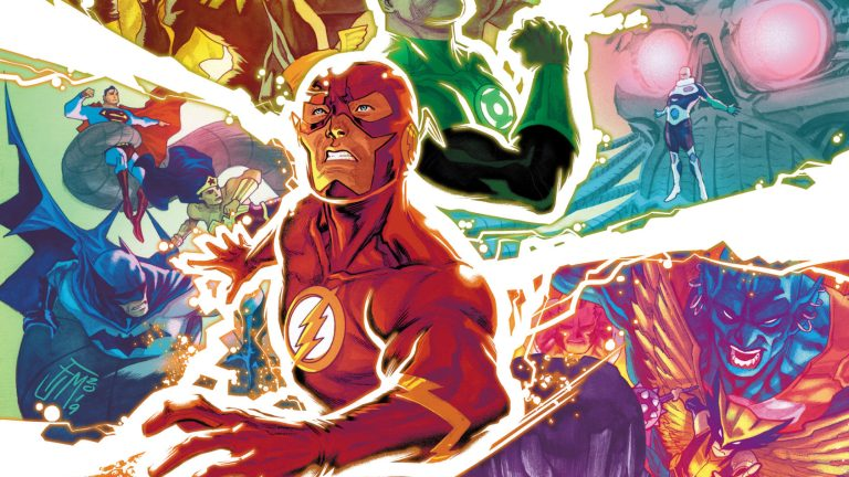 Justice League #31 Cover Features Justice Society of America