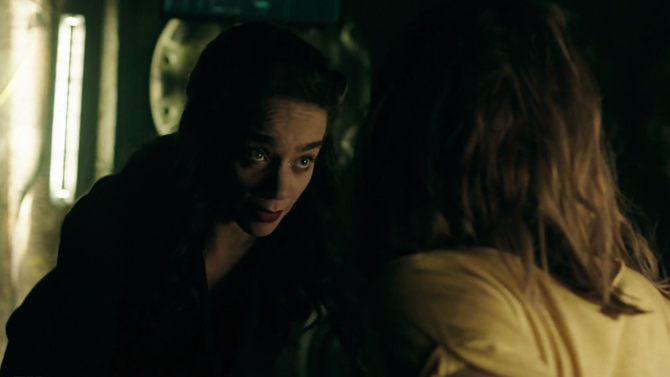 Hannah John-Kamen in Killjoys Season 5; Syfy