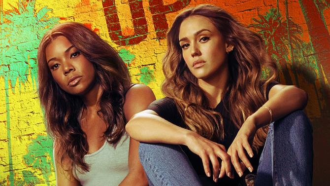L.A.'s Finest poster, Gabrielle Union and Jessica Alba; Spectrum