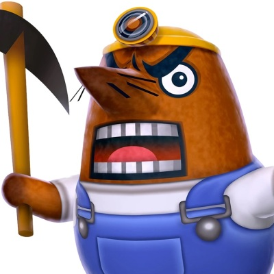 Mr. Resetti Animal Crossing