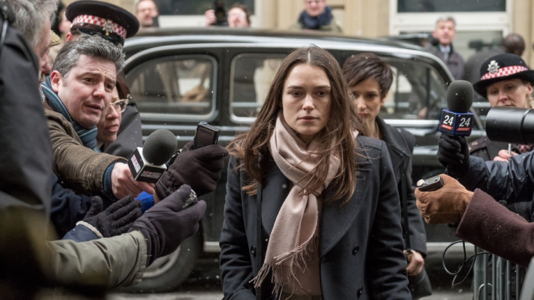 Keira Knightley in the Official Secrets Trailer