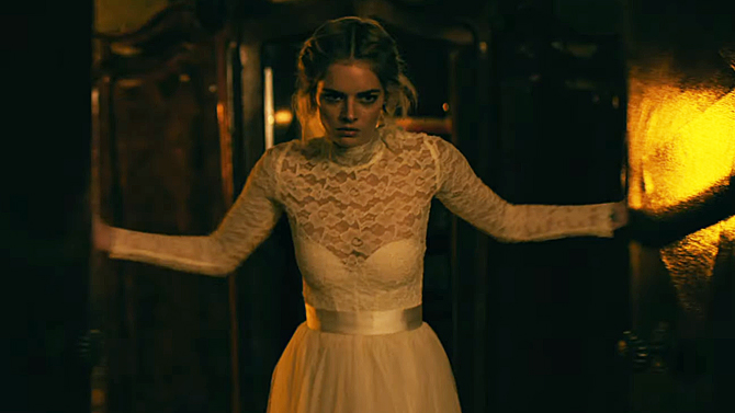 Samara Weaving in Ready or Not; Fox Searchlight Pictures