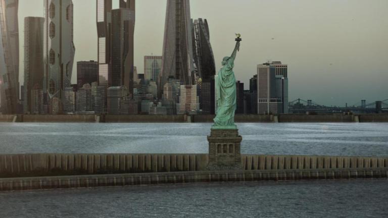 New York Skyline in The Expanse