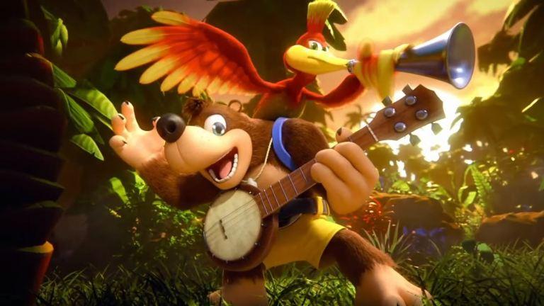 Smash Bros Banjo Kazooie