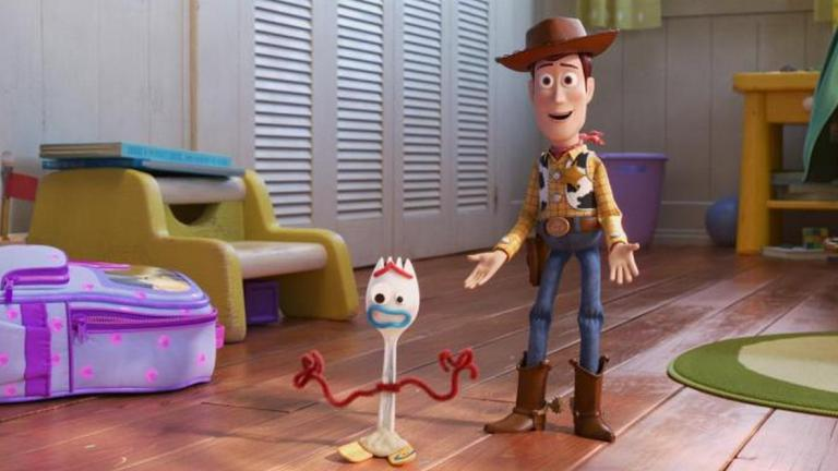 Toy Story 4 Review Forky and Woody