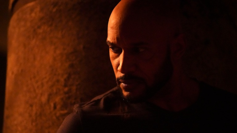 Henry Simmons as Mack in Agents of SHIELD