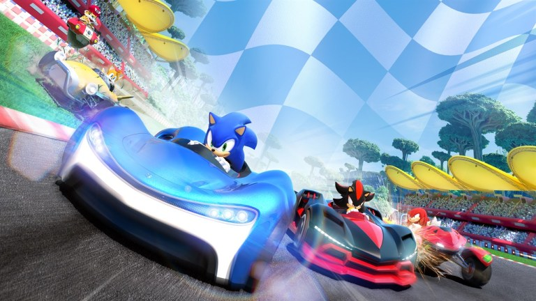 Win a PS4 Code For Team Sonic Racing!
