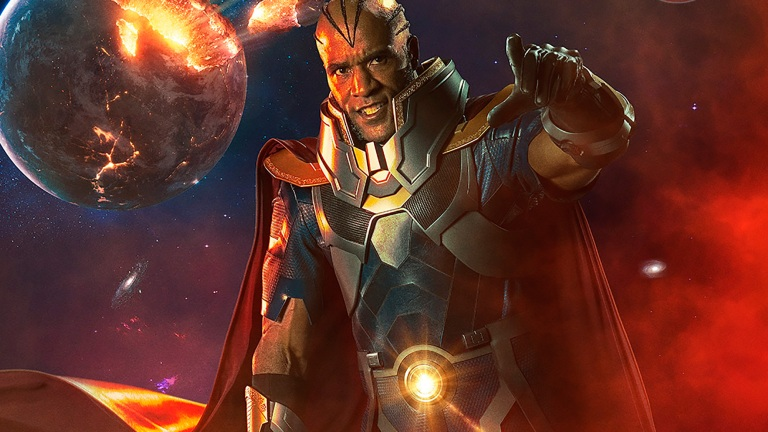 Lamonica Garrett as The Monitor in the Arrowverse Crossover: Elseworlds and Crisis on Infinite Earths