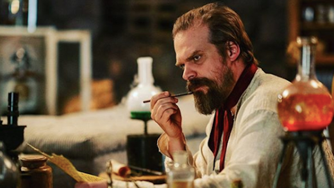 David Harbour in Frankenstein's Monster's Monster, Frankenstein; Netflix