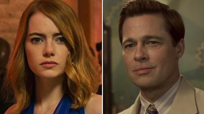 Damien Chazelle and Emma Stone on the La La Land set; Lionsgate