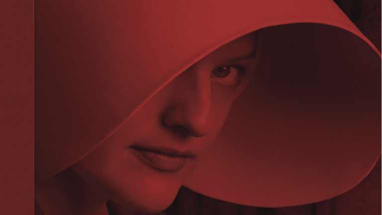 The Cover of the Art and Making of The Handmaid's Tale