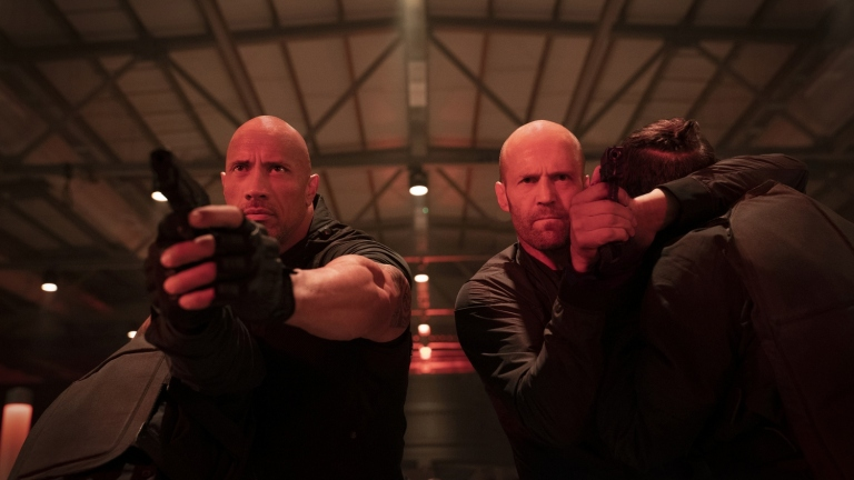 Dwayne Johnson and Jason Statham in Hobbs & Shaw Review