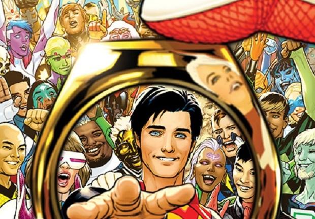 Legion of Super-Heroes: Millenium #2 Cover
