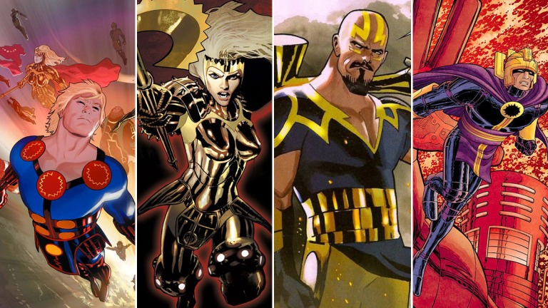Marvel's Eternals Comics Reading Order