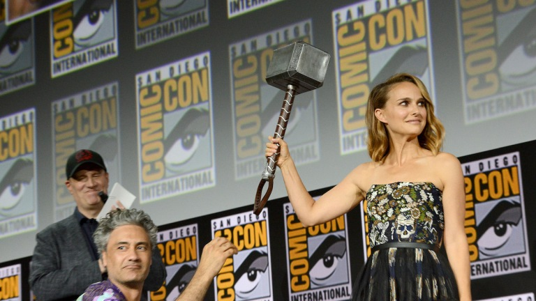 Marvel SDCC Explained Natalie Portman Thor