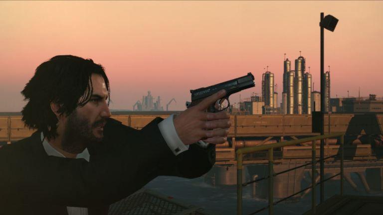 Metal Gear Solid Keanu Reeves Mod