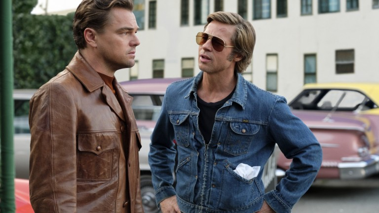 Leonardo DiCaprio and Brad Pitt in Once Upon a Time...in Hollywood