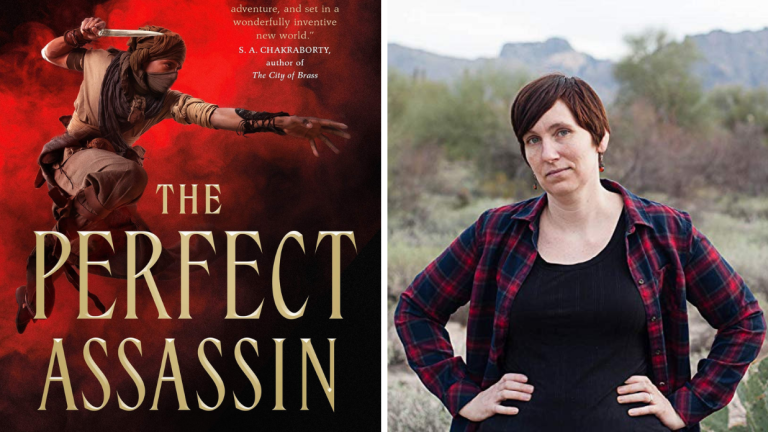 Cover of Perfect Assassin, Photo of Author K.A. Doore