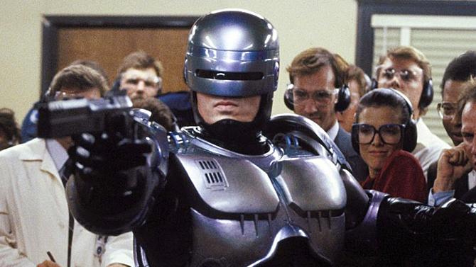 RoboCop, Peter Weller; Orion Pictures