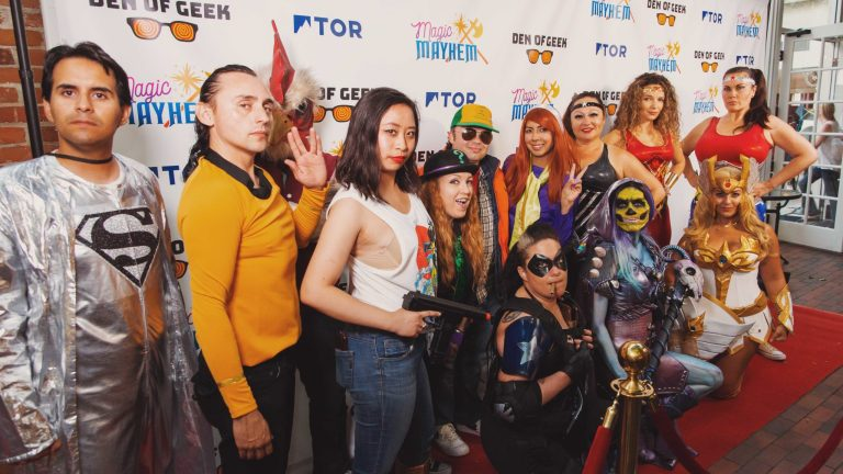 San Diego Comic-Con 2019 Cosplayers Wonder Woman She-Ra Skeletor