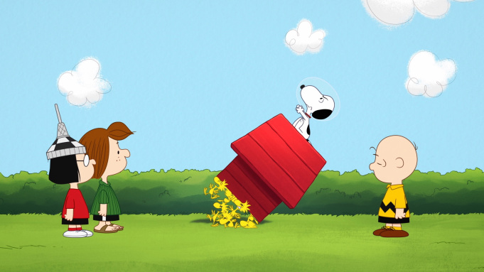 Snoopy in Space Apple TV