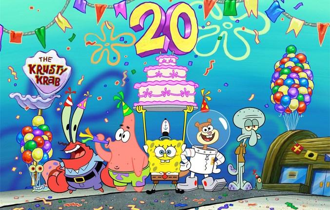 SpongeBob SquarePants 20th Anniversary; Nickelodeon
