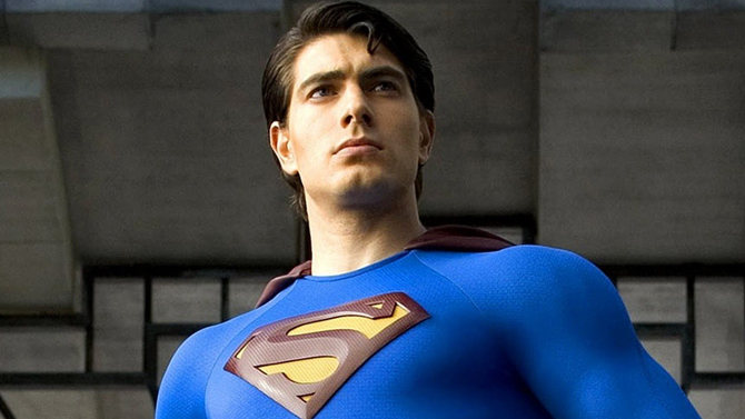 Brandon Routh as Superman in Superman Returns; Warner Bros. Pictures