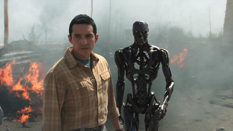 Gabriel Luna as Rev 9 in Terminator: Dark Fate