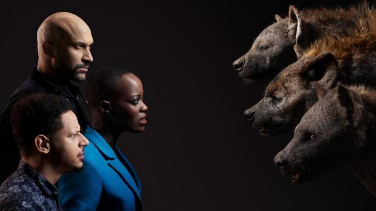 Keegan-Michael Key, Eric Andre, Florence Kasumba and the Hyenas from The Lion King