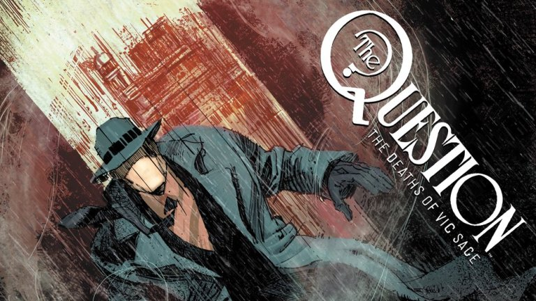 The Question Black Label Comic
